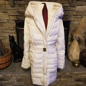 Kensie Winter White Puffer Jacket 3X